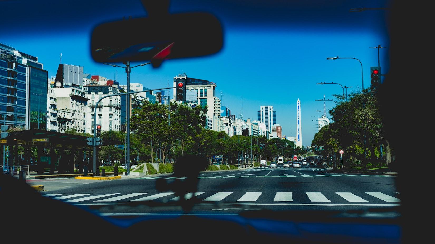 Santa Fe Avenue in Buenos Aires