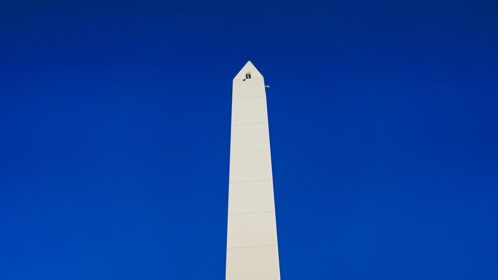 The Obelisco in Buenos Aires