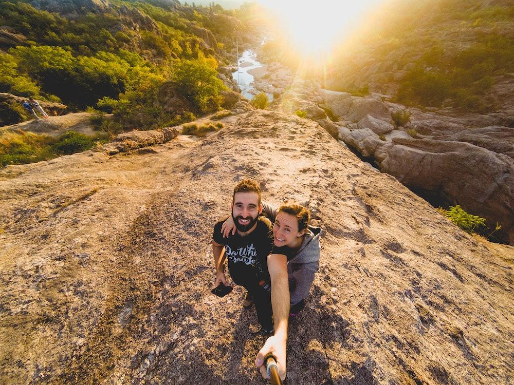 Becca and Dan in Argentina