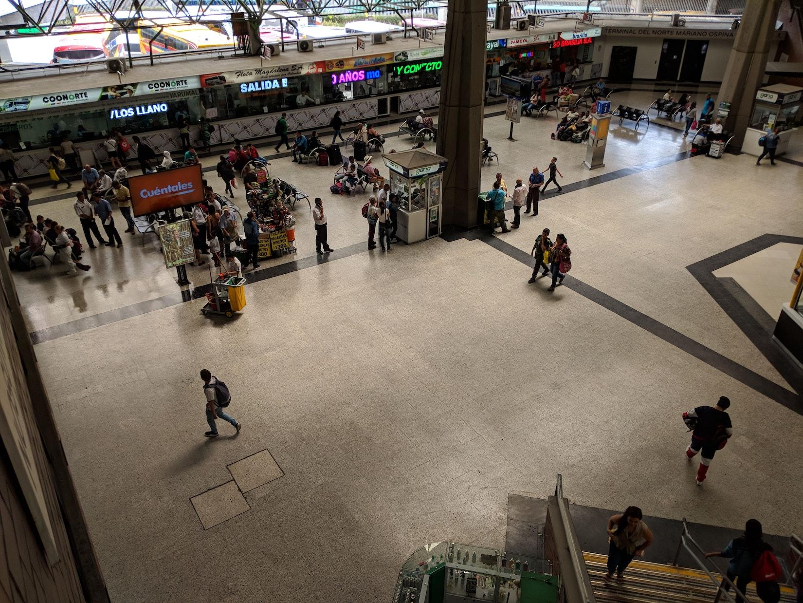 Terminal Norte in Medellin, Colombia