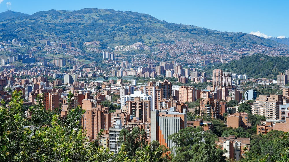 Medellin is a big city in a valley of the lower region of the Andes in central Colombia. It's full of culture, colors and food, and it's developing fast into a major destination for travelers. The weather feels like eternal spring in Medellin.