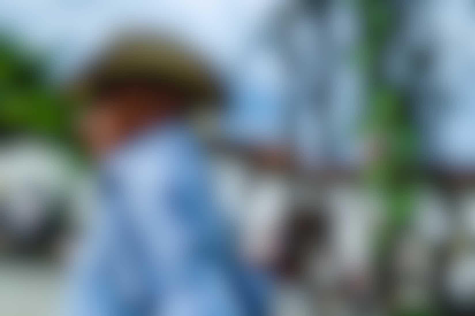 Man with cowboy hat in Santa Fe de Antioquia, Colombia