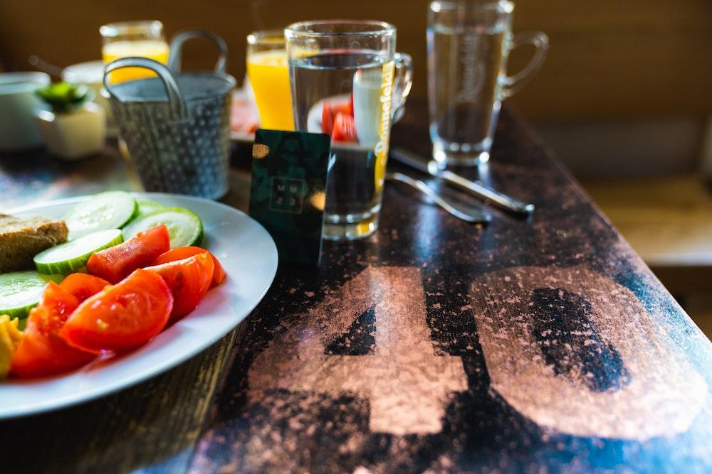 Breakfast foods at MeetMe23