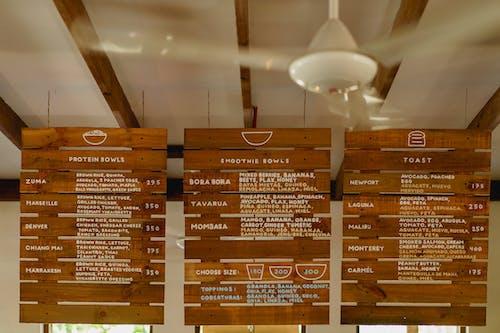 Vagamundo kafe restoran Cabarete Dominik Cumhuriyeti'nde sağlıklı taze yemek menüsü