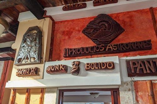 Sosua Dominik Cumhuriyeti'ndeki Castillo Mundo King Sanat Müzesi'nde Rolf Schulz tarafından yapılan ahşap uzaylı oymaları