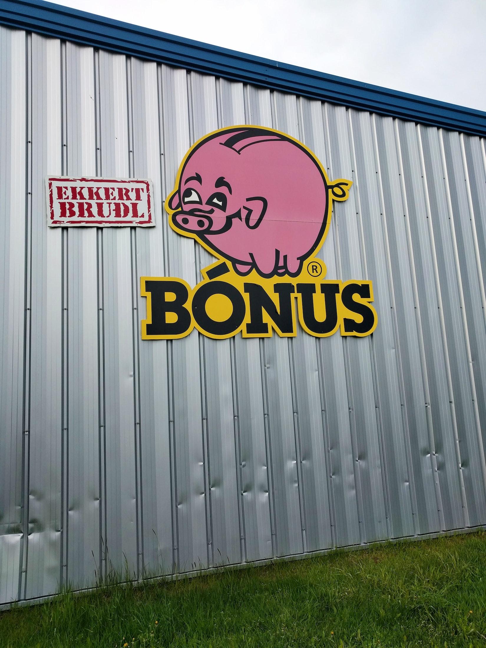 The Bonus Grocery Store Pig