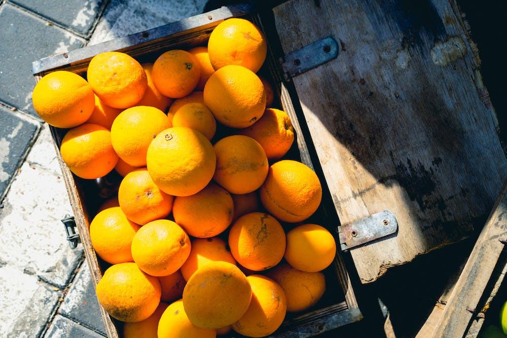 Oranges for sale jaffa market hipster stores Yafo Israel
