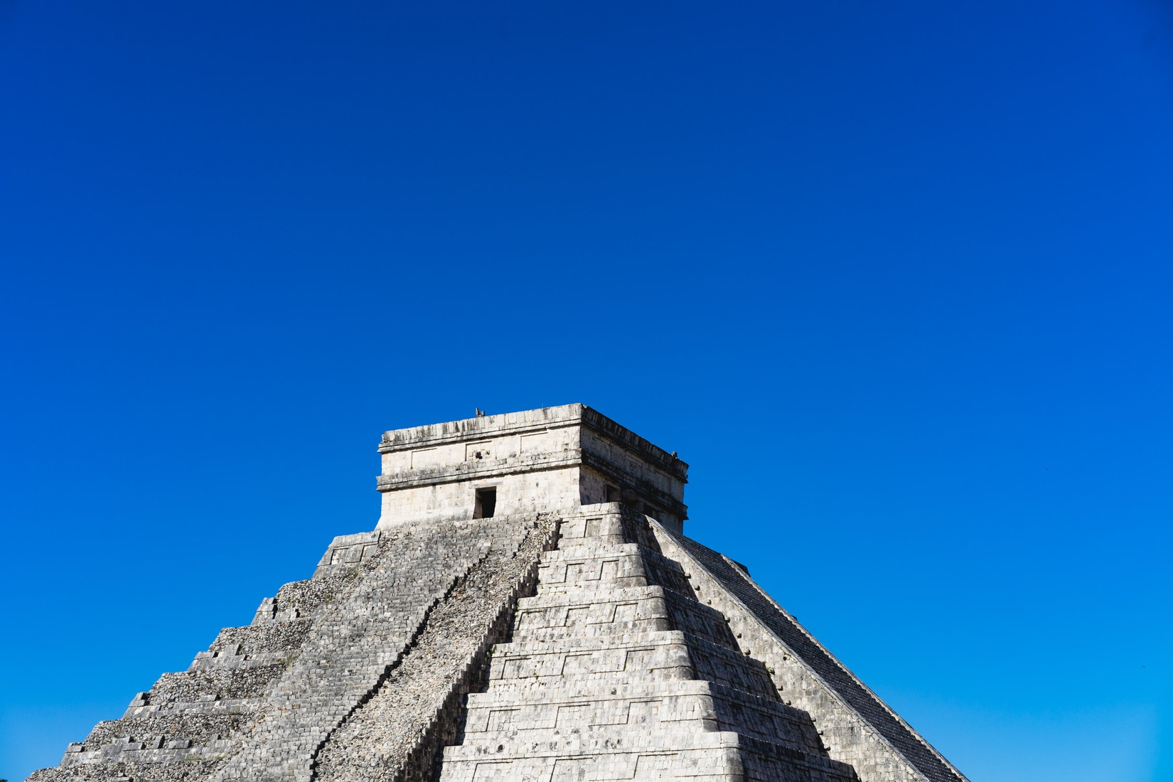 The most well-known of the Mayan pyramids at Chichen Itza National Park in Mexico