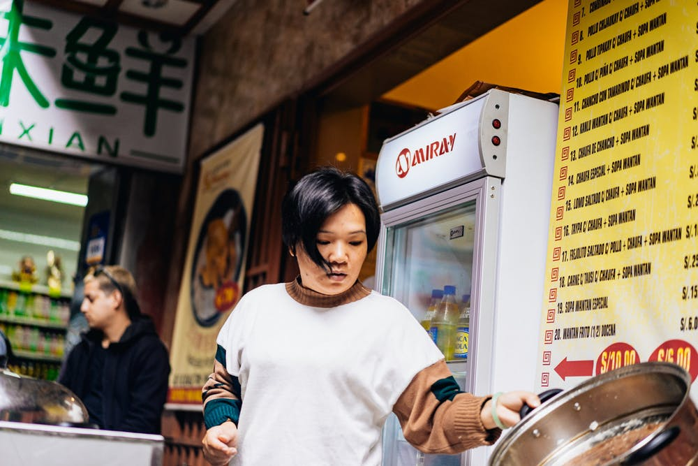 Lima's Chinatown (known as Barrio Chino) is an interesting mix of cultures, and has a history that dates to the 1860s. We explored the options for eating and found chifa cuisine in a back alley of Calle Capon.