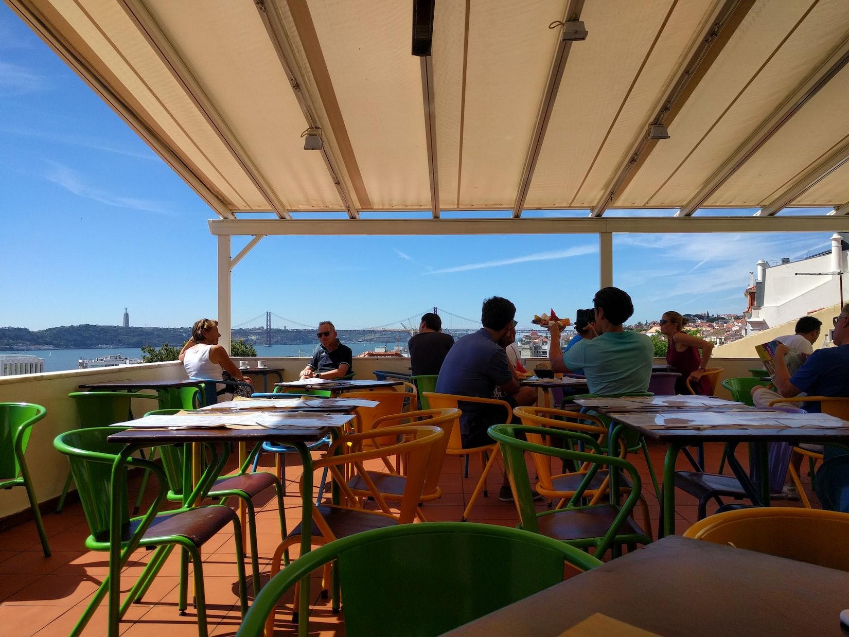 Views and tables at Cafe Noobai