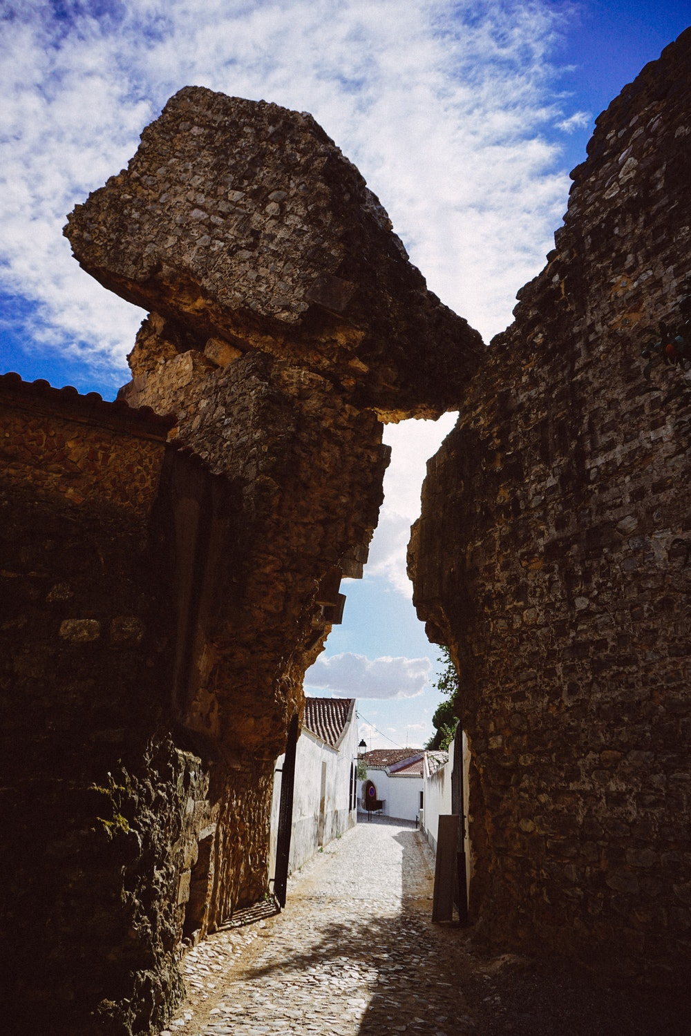 Part of the castle in Serpa