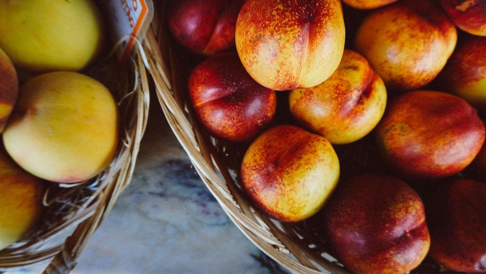 Fruit from a farmers market in Mertola