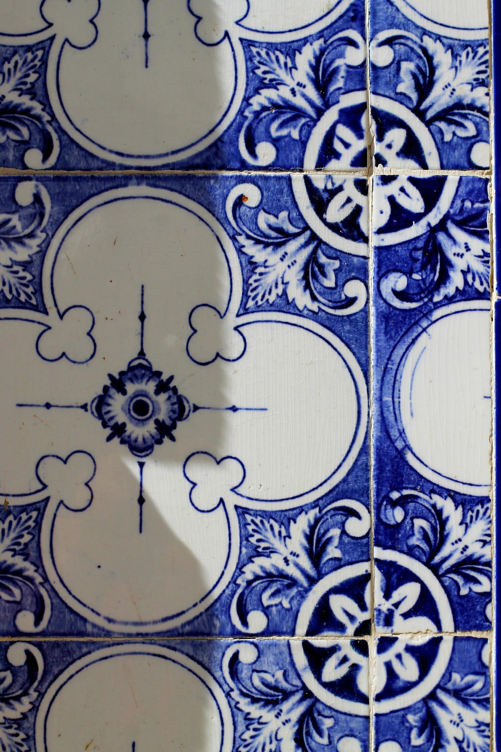 Tiles on a house in Beja