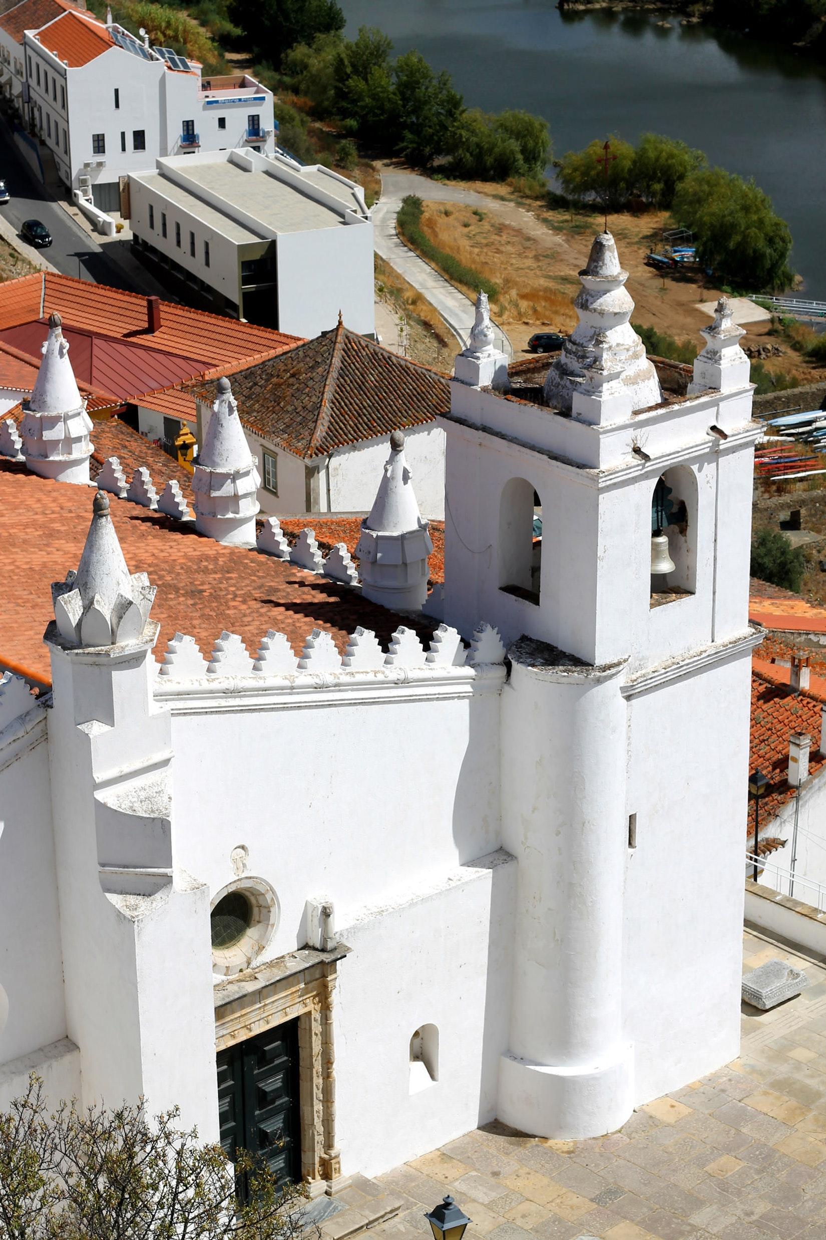 A castle in Mertola