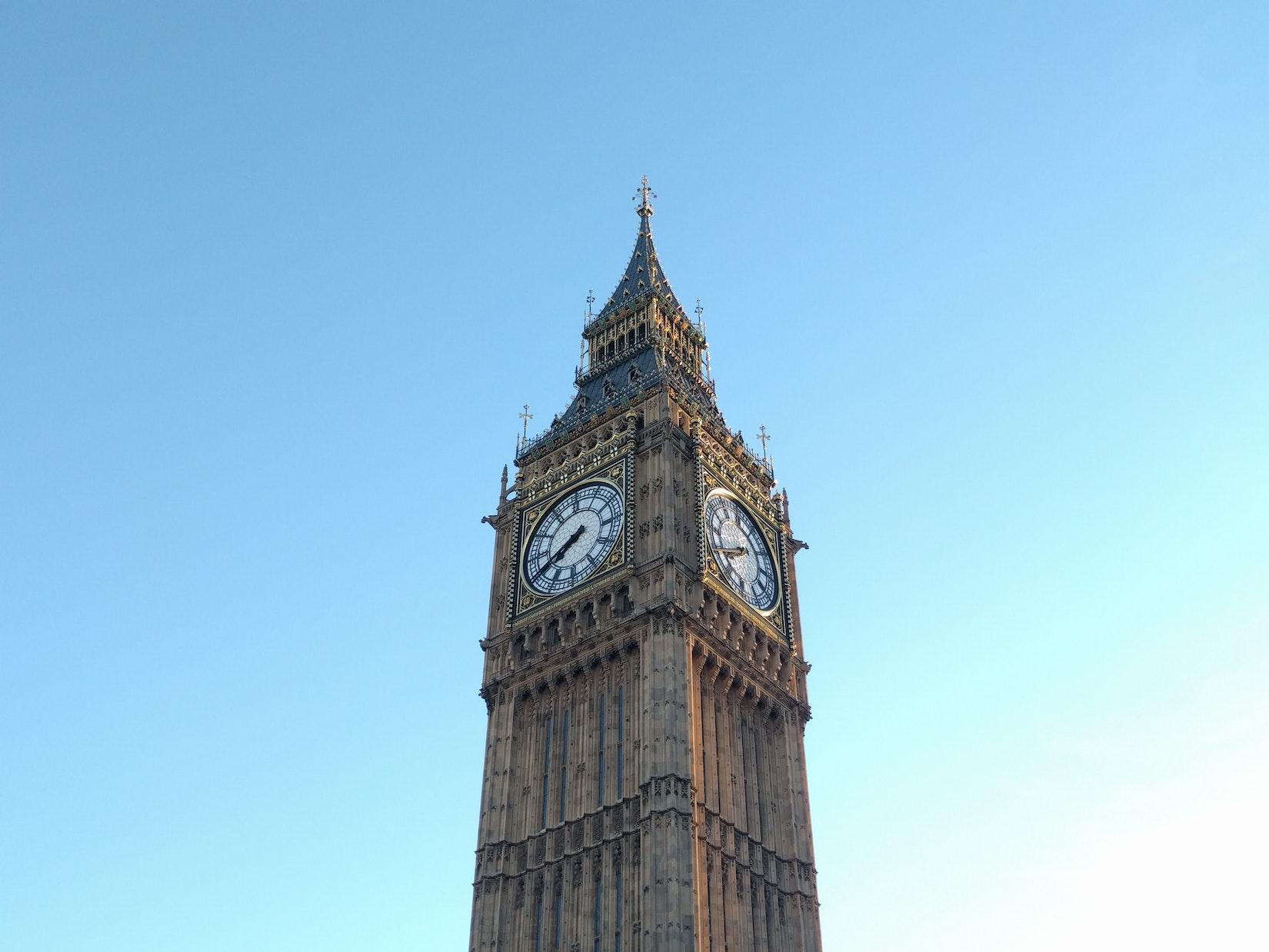 Big Ben half from Dan in London