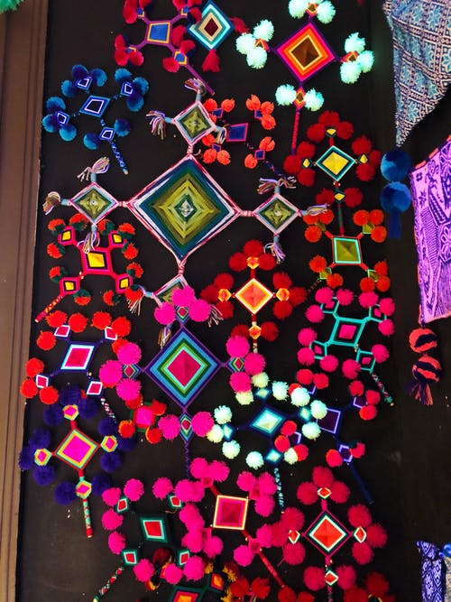 The Neon Tea Party Crafting With Global Inspiration