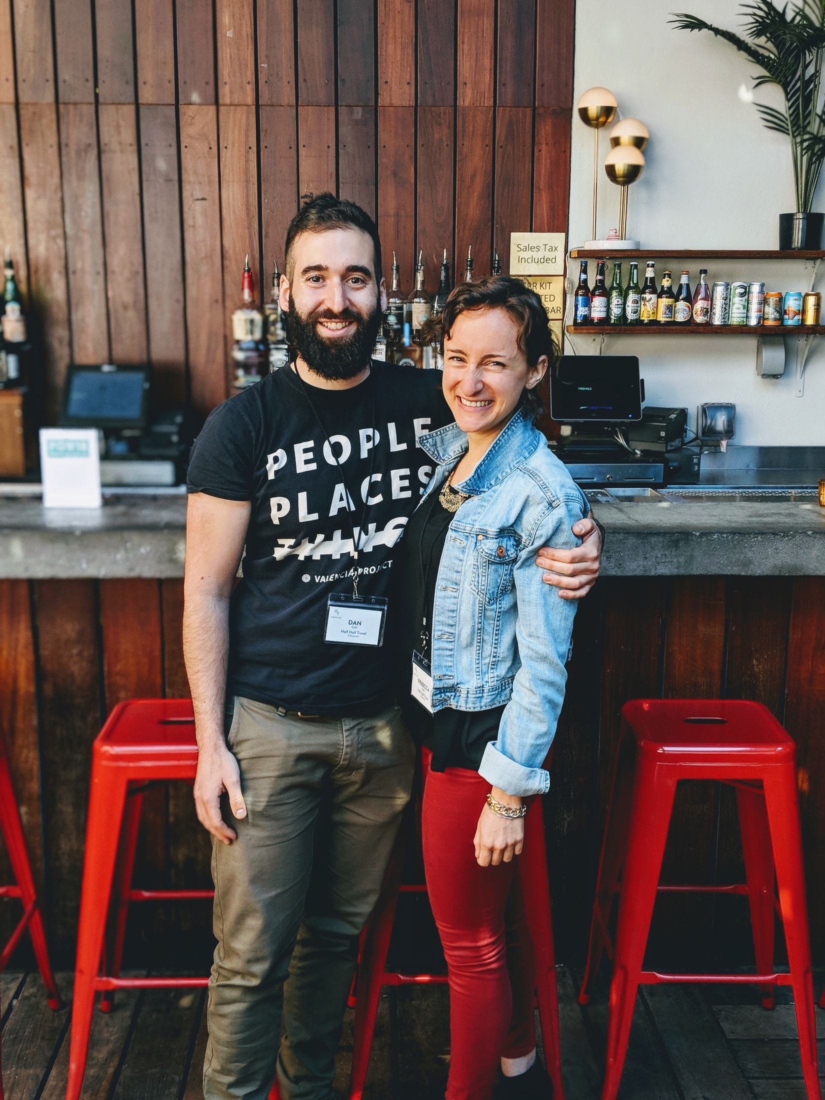 Becca and Dan at Future of work 2018