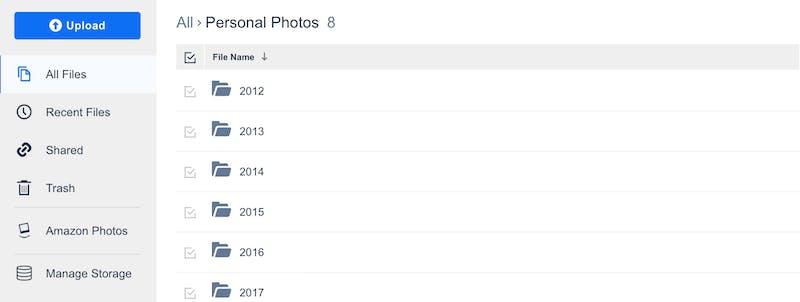 Amazon prime photo storage price