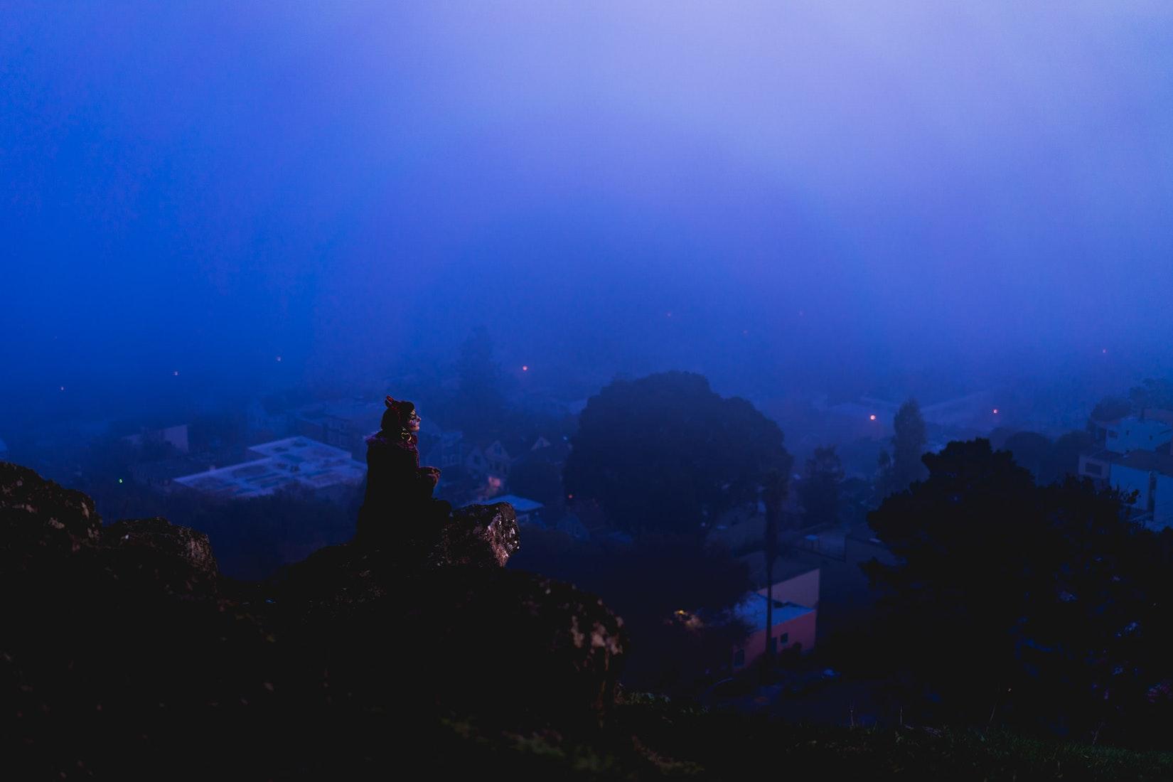 Morning fog in San Francisco
