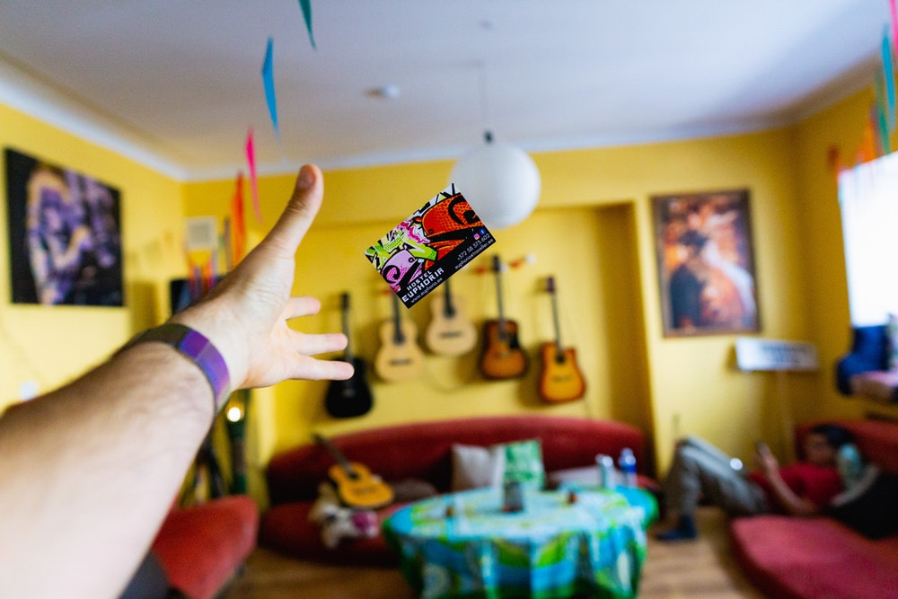 Cover image for Euphoria at Tallinn's Most Unique Hostel. Read more by visiting the article!