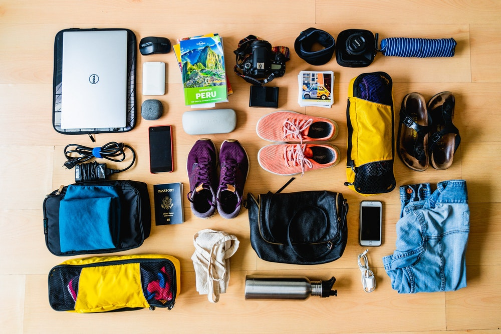 In packing for a four-month trip, I had to take into account how I could pack in order to comfortably work remotely, be prepared for a range of climates and take along some favorites from home.