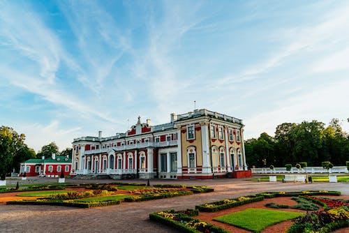 Kadriorg Park Estonya'daki Doğu Avrupa mimarisi kalesi