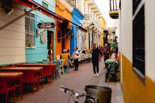 Santa Marta, Kolombiya sokakları