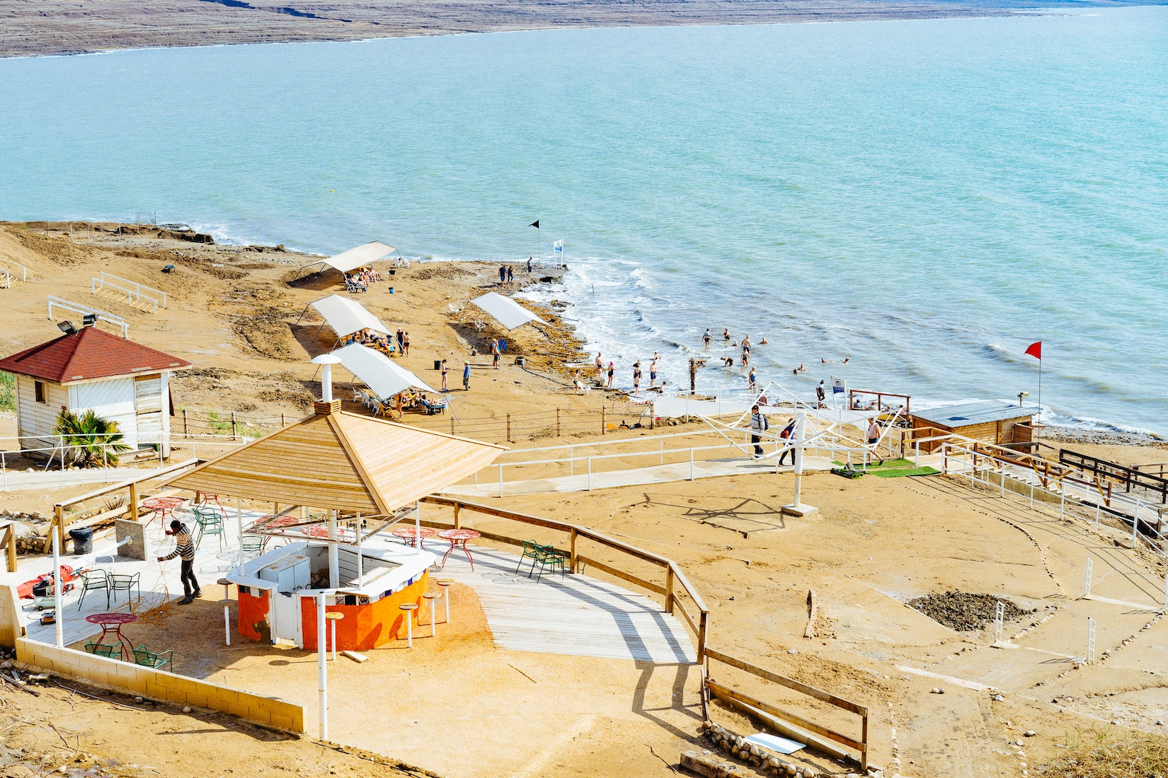 Resort at the Dead Sea in Israel