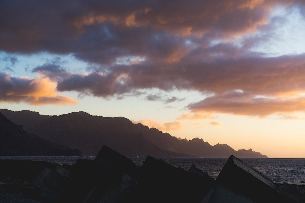 Sunset in Puerto de las Nieves