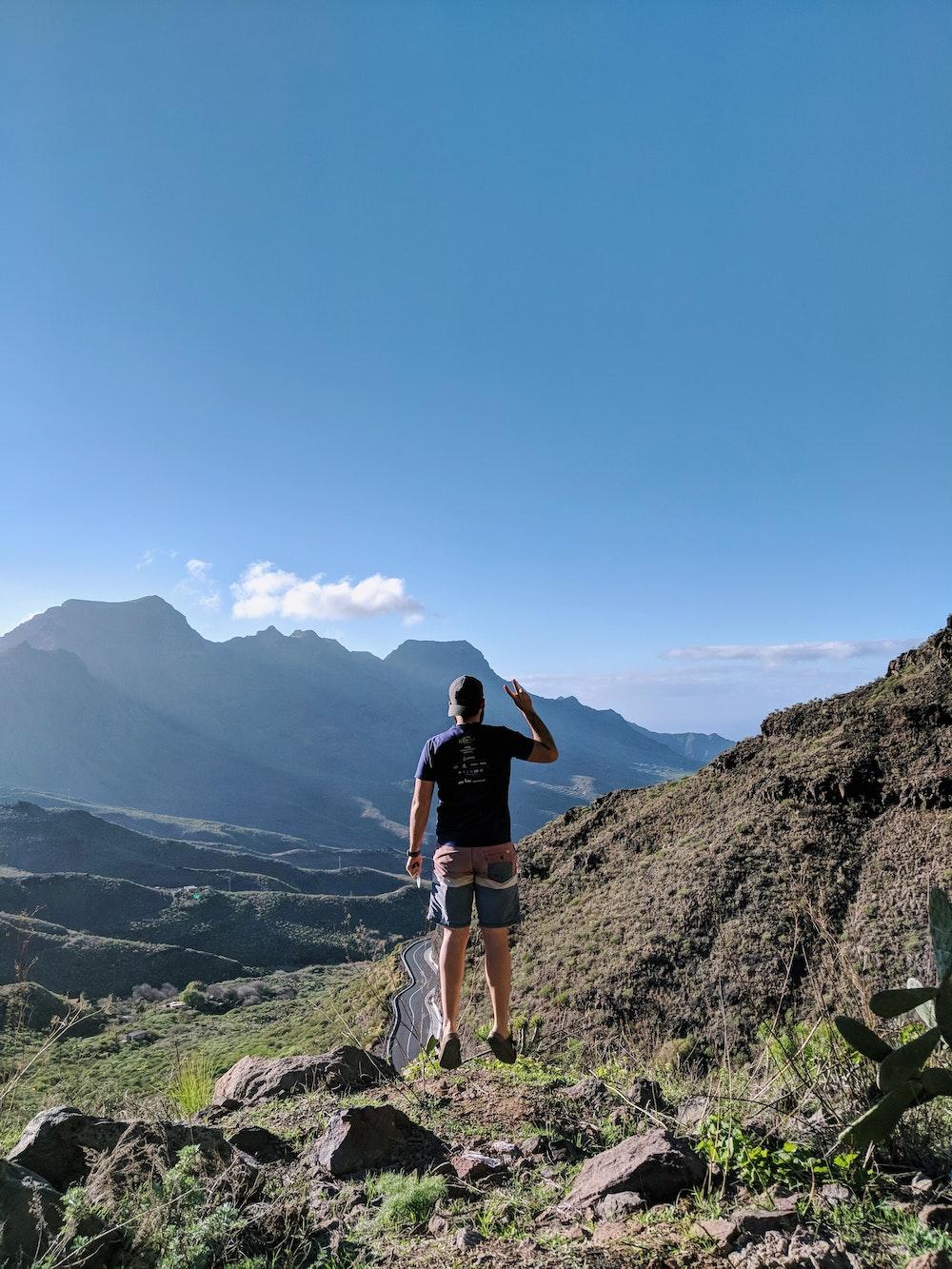 Dan in Gran Canaria