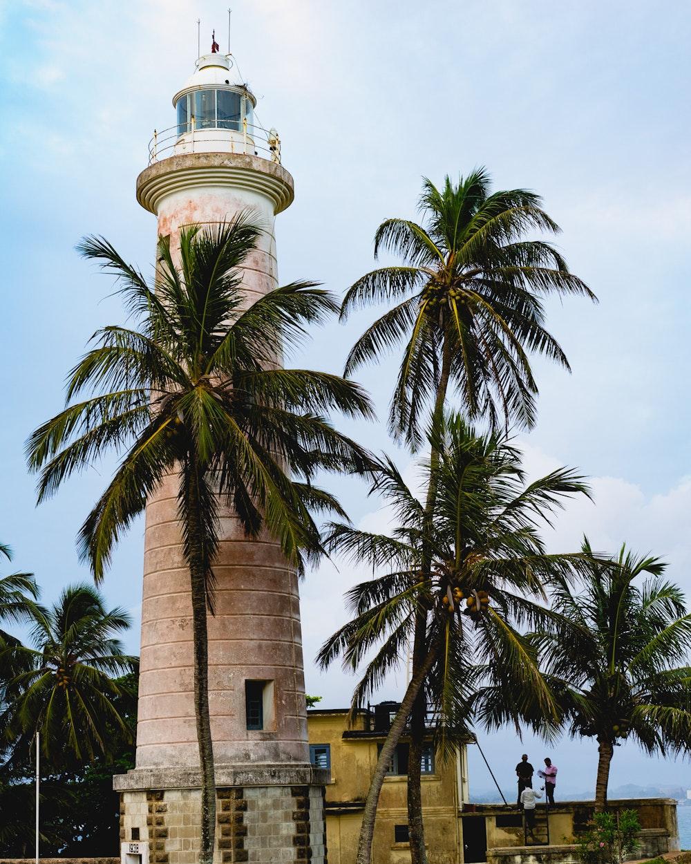 The Galle Lighthouse in Sri Lanka