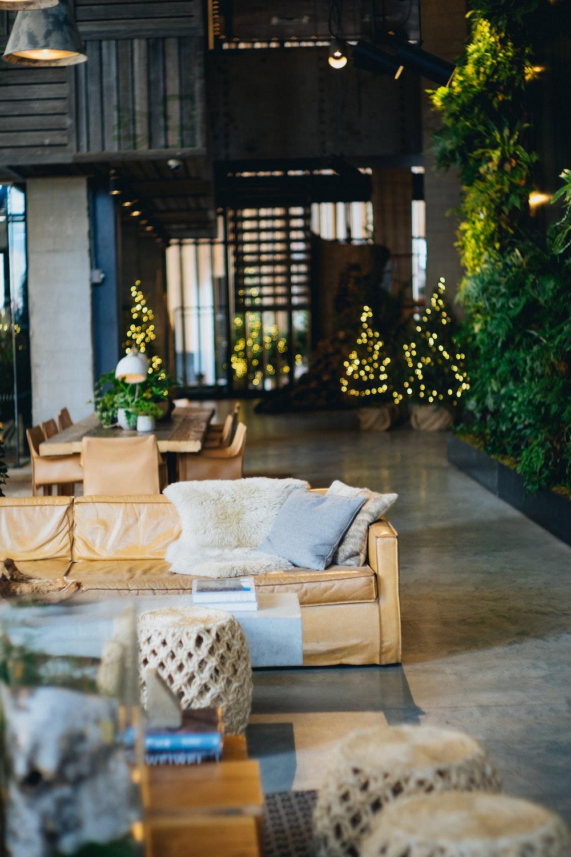 The 1Hotel lobby