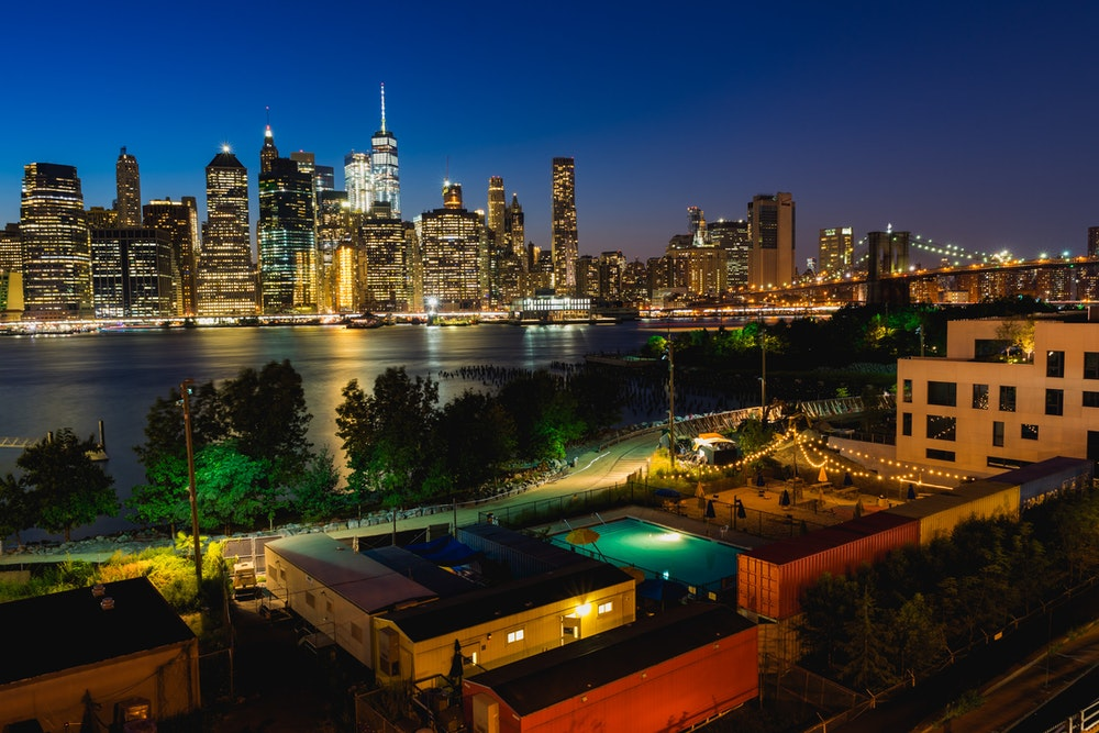 Brooklyn Bridge Park from above
