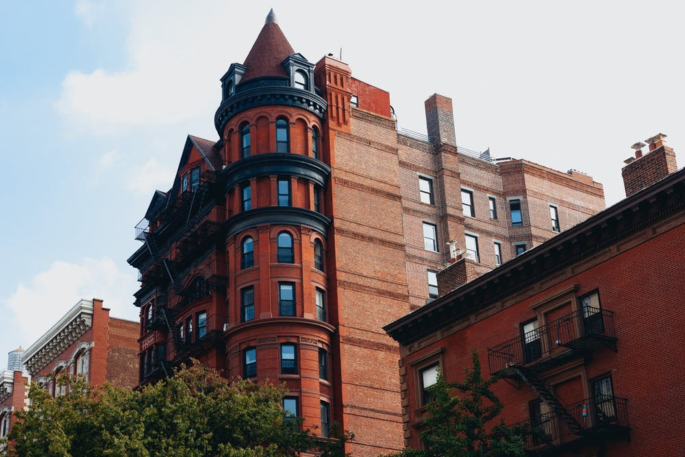 Theres no place like home brooklyn heights old building at golden hour in brooklyn heights malvernweather Gallery